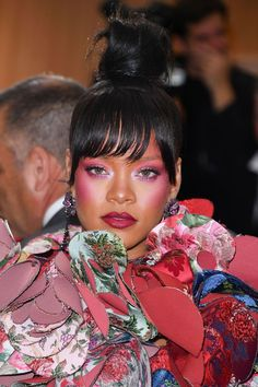 Rihanna - See the best hair and make-up from the Met Gala 2017 red carpet in glorious close-up detail