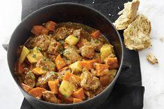 Pork and Vegetable Stovetop Stew