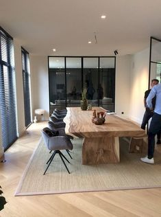 11 Minimalist Wooden Furniture Designs That Will Be Huge This Year is part of Contemporary dining room design, Dining room design, Dining room makeover, Dining room contemporary, Contemporary dining r - Dining Room Design, Dining Room Table, Dining Rooms, Furniture Plans, Furniture Design, Wooden Furniture, Furniture Outlet, Furniture Stores, Furniture Projects