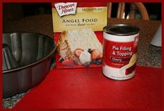 Easy Angel Food Cake Recipe - COOKING