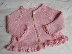 Ravelry: Chic! une fille... - La veste à volants pattern by La Droguerie