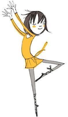 circus dancing girl children's illustration - Google Search