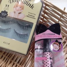 My favorite fake eyelashes brand Dolly Wink.its fake eyelashes n eyelashes fix r much much better than others