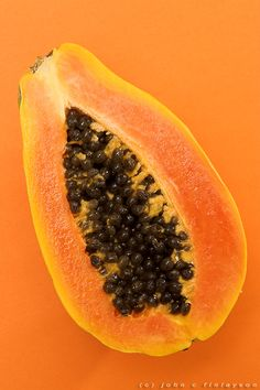 Papayas are a great source of antioxidants- within a week your acne will decrease and your skin will become stronger, appear younger, and clearer. Real awesome stuff.