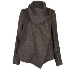 Caped jacket