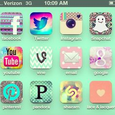 pretty spring iphone apps