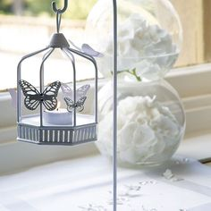 Butterfly Hanging Lantern - Confetti.co.uk