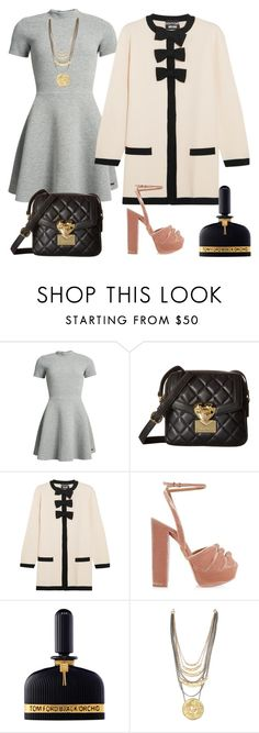 """""""Moschino dreaming...."""" by eiliana ❤ liked on Polyvore featuring Superdry, Love Moschino, Boutique Moschino, Aquazzura and Tom Ford"""