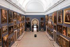 Morgan Great Hall at the Wadsworth Atheneum.  10/14/15