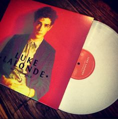 Luke Lalonde's white 'Rhythymnals' vinyl