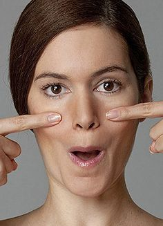 The ultimate facercise: Forget Botox, nips and tucks. in just six days you can get a younger, firmer face - naturally Forget Botox, nips and tucks. in just six days you can get a younger, firmer face - naturally. Beauty Care, Diy Beauty, Beauty Skin, Health And Beauty, Beauty Hacks, Beauty Tips For Face, Beauty Secrets, Beauty Products, Facial Yoga
