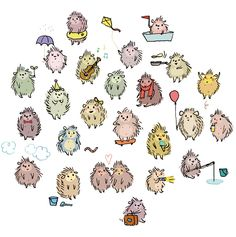 Hedgehogs by Anne Montel