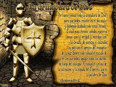 la armadura de dios para niños