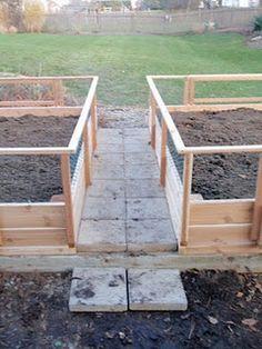 cedar raised vegetable garden beds -