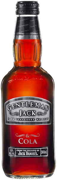 Gentleman Jack & Cola Bottle.