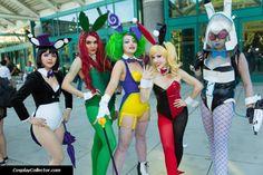 Women of Gotham cosplay