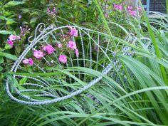 Garden art in the Krantz garden