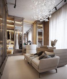 Luxury Bedroom Design, Bedroom Closet Design, Home Room Design, Dream Home Design, Luxury Interior, Home Interior Design, Wardrobe Design, Dressing Room Decor, Dressing Room Design