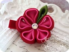 Kanzashi Flower Hair