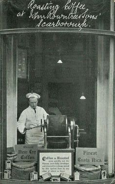 Roasting Coffee at John Rowntree & Sons - Scarborough, 1911 | Flickr - Photo Sharing!