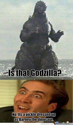 godzilla meme | Godzilla?
