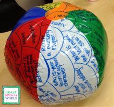 Crazy Speech World:  Beach Ball Therapy