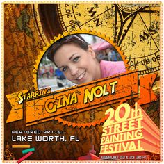 Gina Nolt  http://streetpaintingfestivalinc.org/index.php/artists/featured-artists/37-gina-nolt