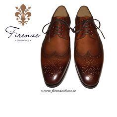 Handmade brogue from Firenze Shoes Men Dress, Lace Dress, Dress Shoes, Men S Shoes, Brogues, Oxford Shoes, Lace Up, Handmade, Fashion