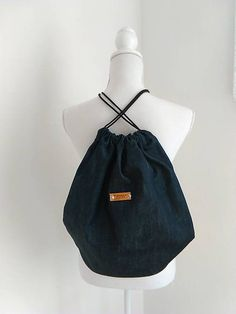 sasis / UNISEX SACK DENIM / WOMAN
