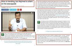 #Aloo is trending but kejriwal is silent on his sexcapade. #Pollkhol