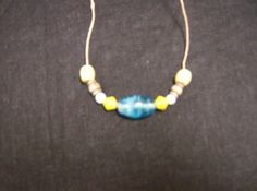 Symetrical bead necklaces