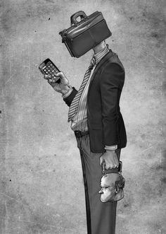 Este artista desenmascaró alasociedad moderna: sus obras son pesadas ehipnotizantes alavez Amazing Drawings, Amazing Art, Issues Band, Meaningful Photos, Deep Art, Deep Meaning, Creative Pictures, Perfect Image, Les Oeuvres