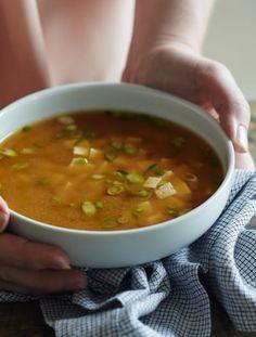 Creamy cauliflower soup, Cauliflower soup and Cauliflowers on ...