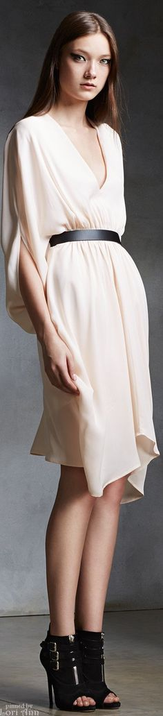 Issa Pre-Fall 2015. Love it, wish I was comfortable with no bra, I'd have no boobs