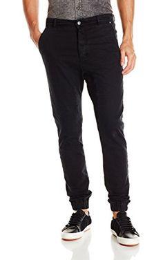 Zanerobe Men's Slingshot Denimo Comfort Stretch Jogger Jeans, Broken Black, 30 ❤ Zanerobe Men's Collections