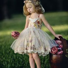 Because print and boho styles are so in! Even @dollcakevintage has the perfect on trend options!! #flowergirl