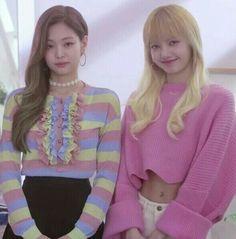 Imagem de kpop, lisa, and jennie