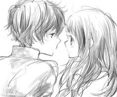 """""""I,m sorry I didn't stay put"""" she said she was getting nervous he was so close to her his face only a few inches away """"that's okay I was hoping you would come"""" he said leaning in lose his eyes half closed the kiss was gentle when he pulled away she just stared at him and he stared at her"""