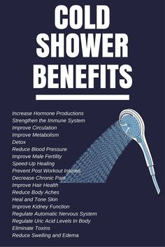 12 Benefits Of Taking Cold Showers: Ice Cold Baby