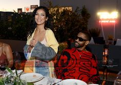 Celebrity Sightings: Jhené Aiko and Big Sean celebrate the launch of the Teva & Jhené Aiko collection at NeueHouse in L. Freaky Relationship, Cute Relationship Goals, Cute Relationships, Cute Couples Photos, Black Couples, Big Sean And Jhene, Jhene Aiko, Interracial Couples, Celebs