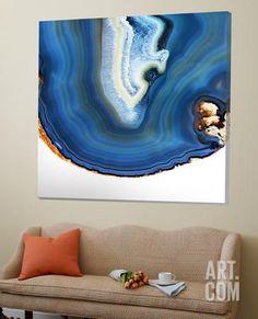 Cobalt Blue Agate A Loft Art by GI ArtLab at Art.com