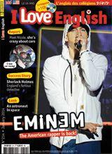 Au sommaire du n° 214 (janvier 2014) - People: Eminem - Report: She's crazy about stock cars - Look: An astronaut's space suit - Success story: Sherlock Holmes, Britain's favourite detective