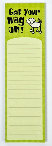 Memo Pads - Get Your Wag On