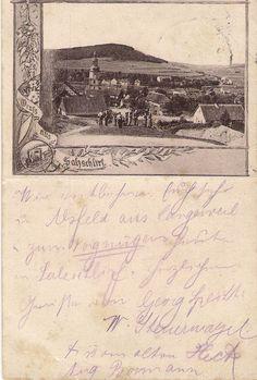Bad Salzschlirf unterhalb der Grotte 1892
