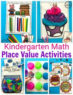 Do you need fun Place Value Worksheets and Games for kids? I have the perfect collection for you. These fun hands on activities and no prep worksheets are fantastic!