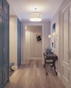 Trendy Home Interior Classic Foyers 16 Ideas Home Room Design, Home Design Plans, House Design, Classic Interior, Luxury Interior, Hall Interior, Hallway Designs, Interior Decorating, Interior Design