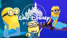Yeah, Minions in Disney style!!!!!!