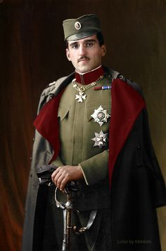 King Alexander of Yugoslavia Ruler of Yugoslavia and Crown Prince of Serbia photograph by Vandyk 12 x 10 inch glass plate negative, 1 April 1916 King Queen, My King, Adele, King Alexander, Serbia And Montenegro, Military Dresses, Military Uniforms, King And Country, Imperial Russia