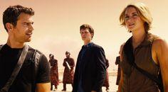 Divergente 3 : Au delà du mur avec Tris, Caleb et Quatre
