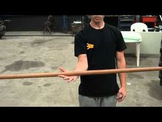 HOW TO; Spin a Bo Staff ( Martial Arts ) (Great for shoulder mobility.)